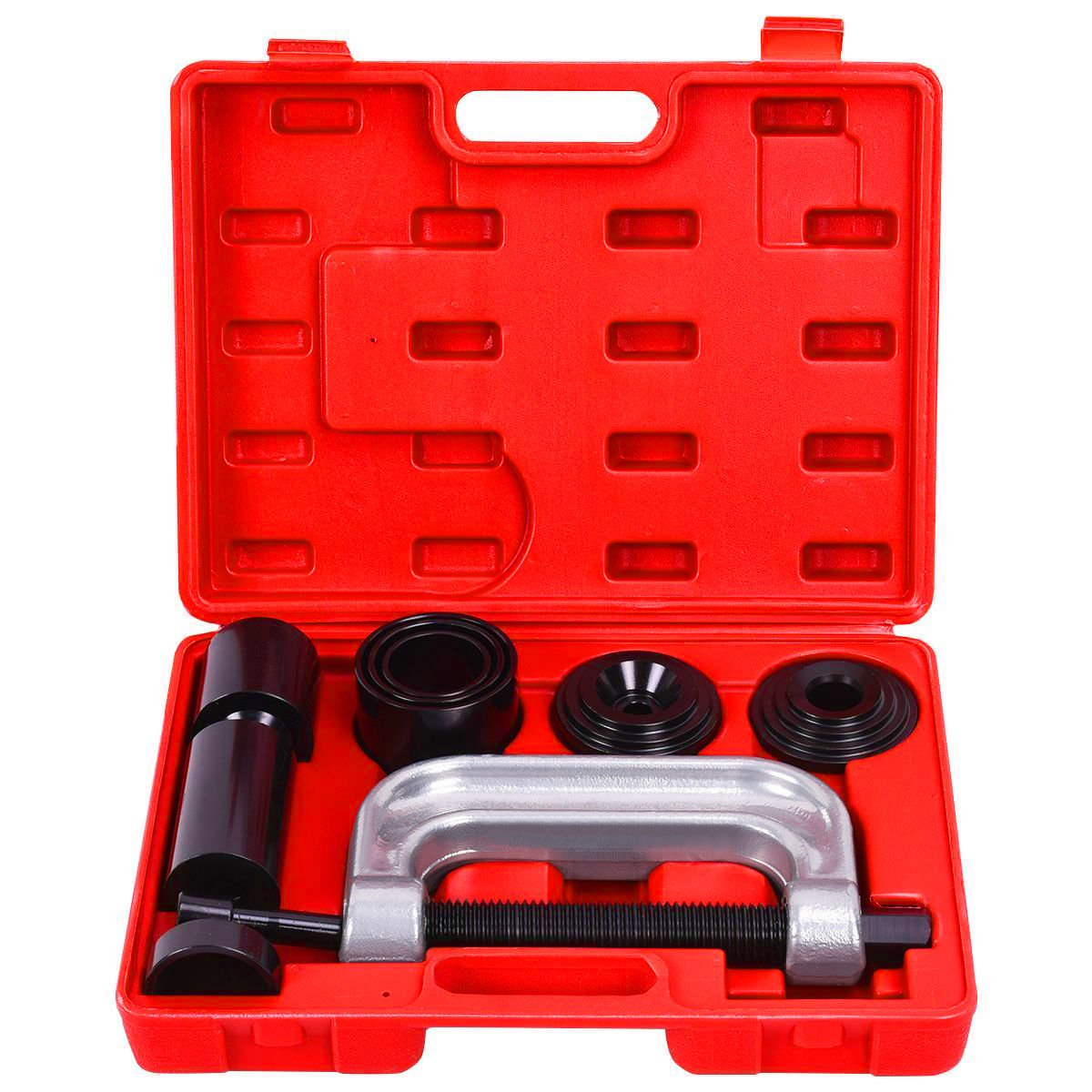 Goplus 4 in 1 Ball Joint Service Tool Kit 2WD & 4WD Remover Installer w/ 4-Wheel Drive Adapters by Goplus