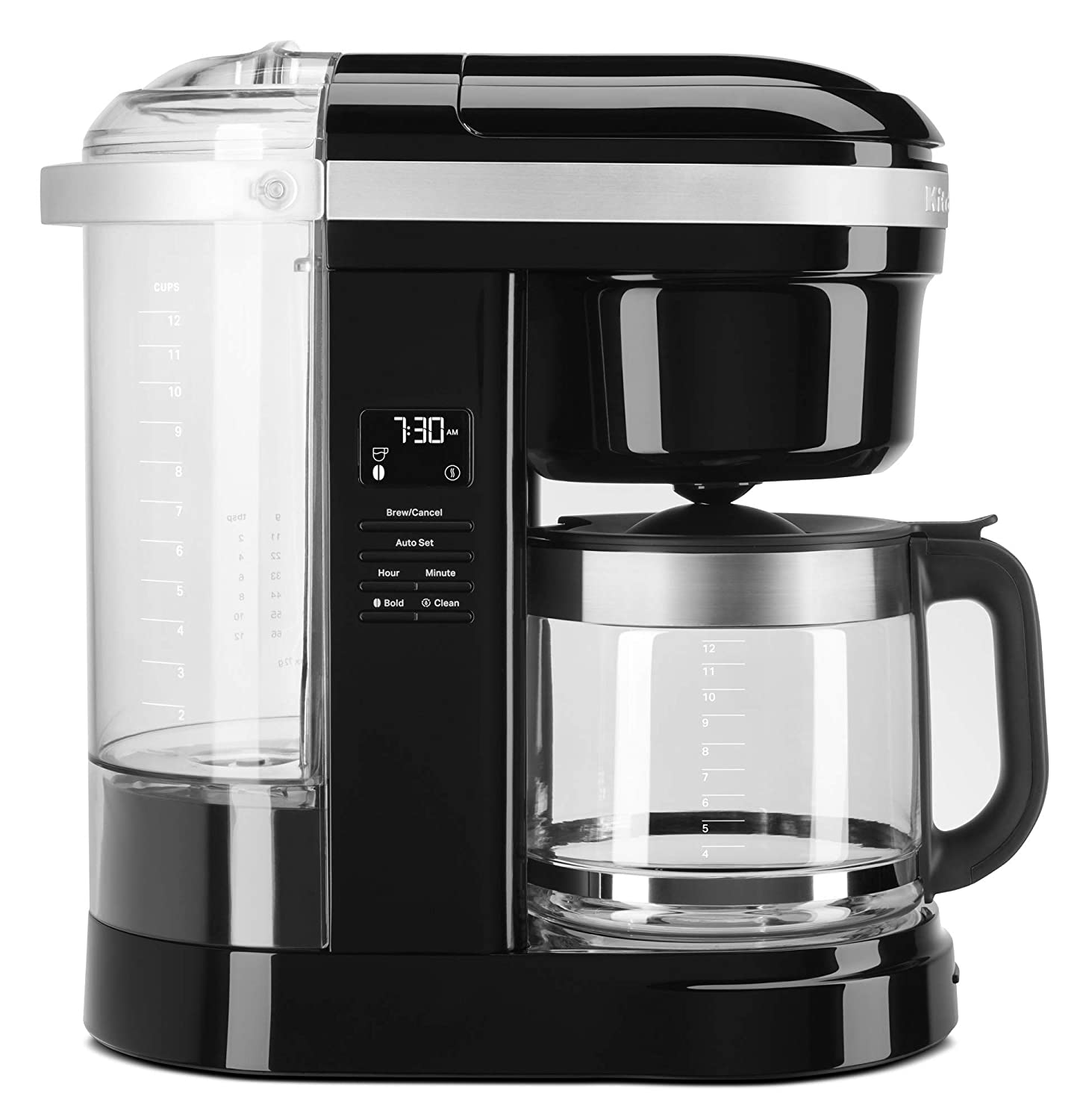 Amazon.com: KitchenAid KCM1208OB Drip Coffee Maker, 12 Cup ...