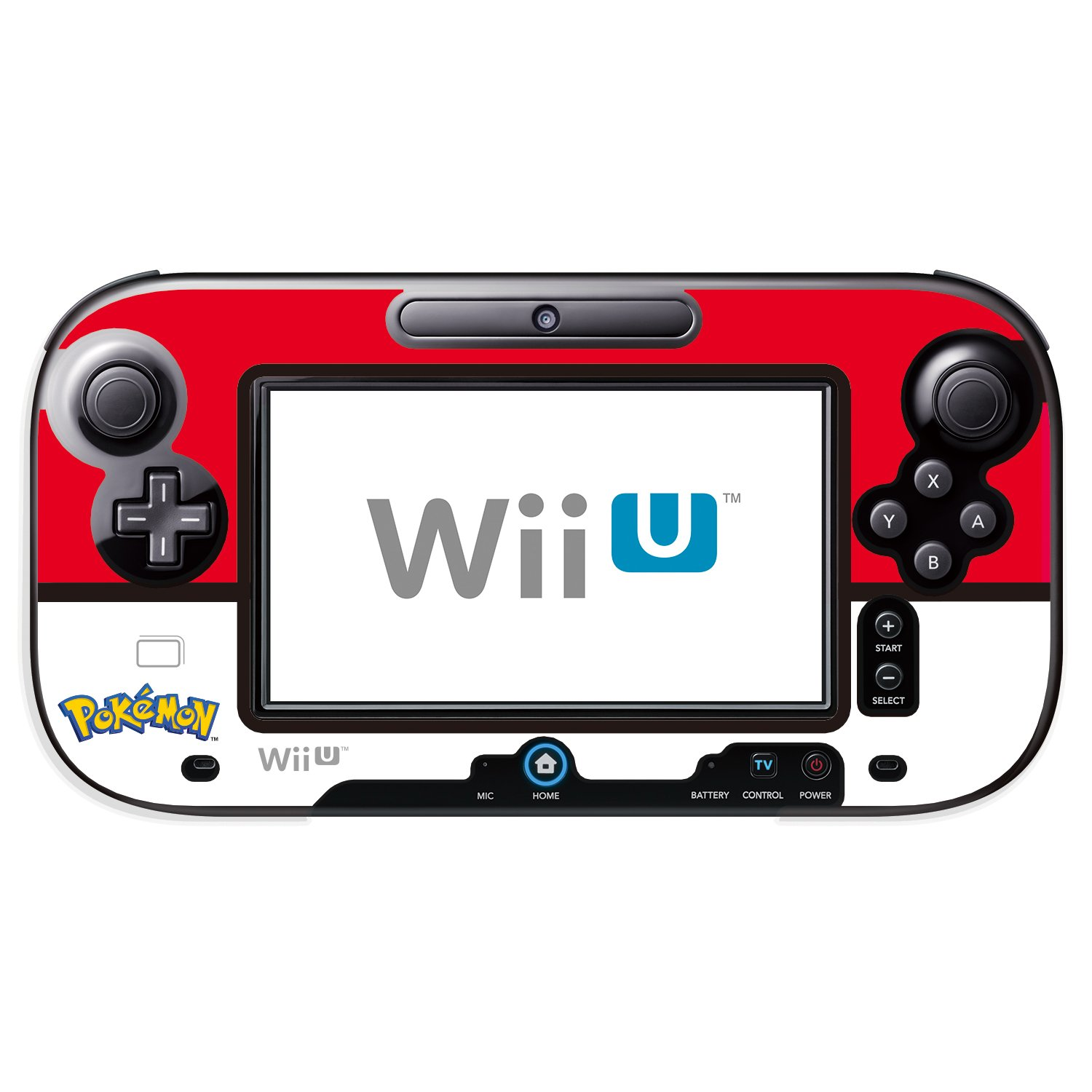 Pokeball GamePad Protector for Wii U Licensed by Nintendo and Pokemon