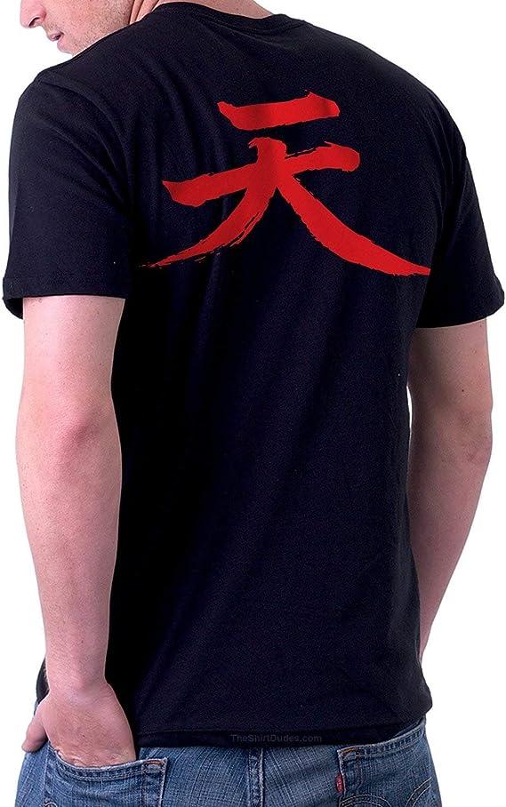 Theshirtdudes Akuma Street Fighter Adult T Shirt For Cosplay