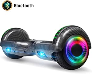 FLYING-ANT Hoverboard for Kids, 6.5 Inch Two Wheels Self Blancing Hoverboard with Bluetooth Speaker and LED Lights