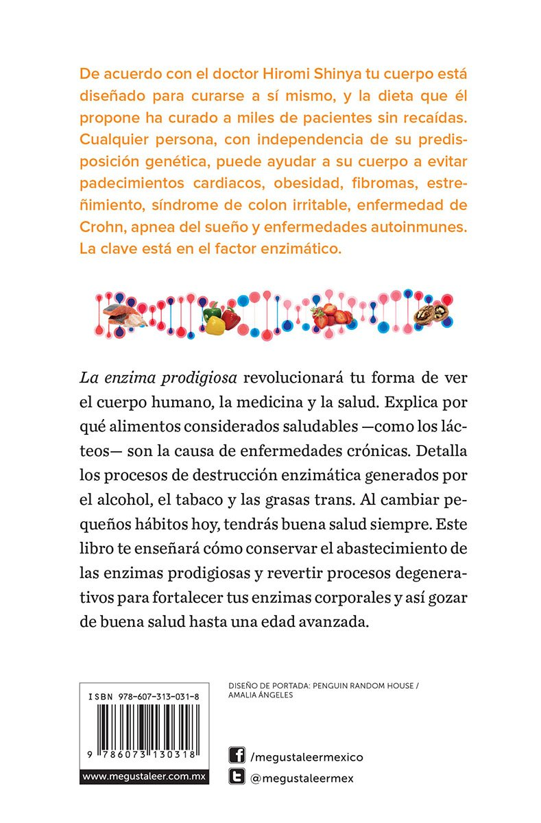 La enzima prodigiosa / The prodigious enzyme: Amazon.es ...