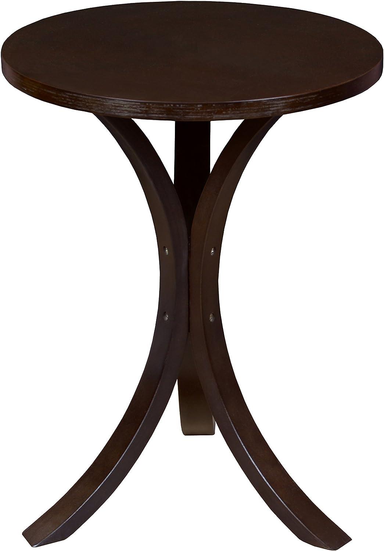 Niche Mia Bentwood Side Table- Mocha Walnut