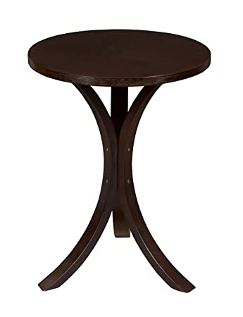 Niche Mia Bentwood Side Table- Mocha Walnut