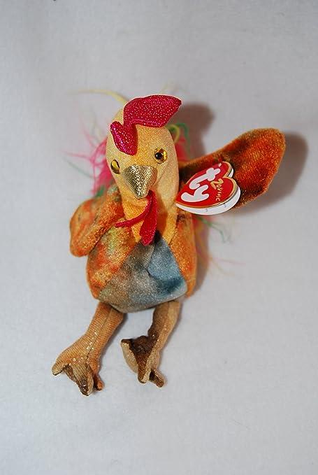 Amazon.com  Zodiac Rooster - Ty Beanie Babies  Toys   Games a5e63667e34