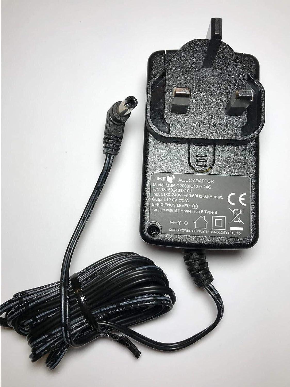 12V MAINS PURE EVOKE-1//2//3 DAB RADIO AC ADAPTOR POWER SUPPLY CHARGER PLUG