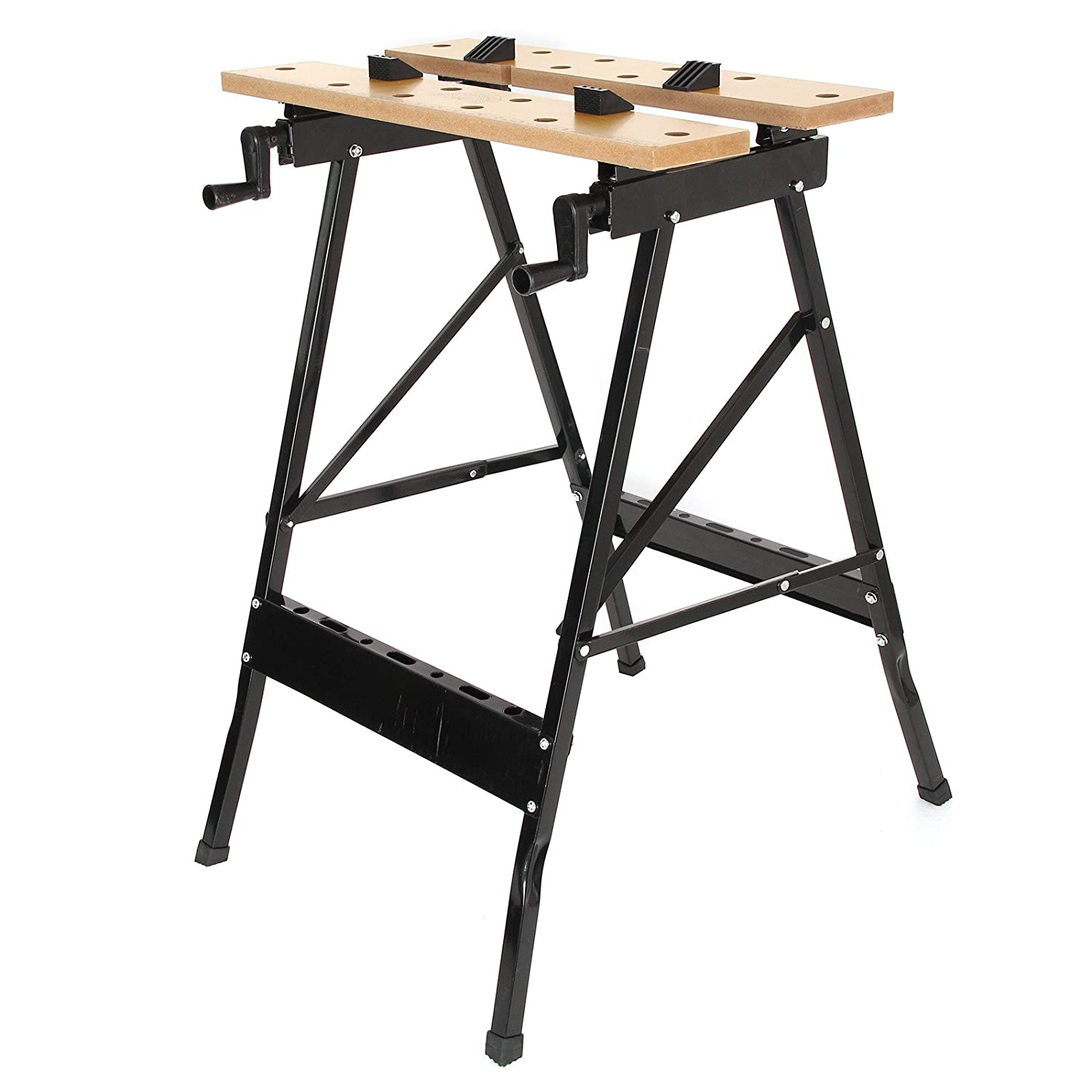 10.5cm Portable Work Clamping Folding Worktop Table Foldable Workbench 88 12.5