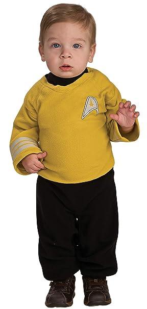 Rubies Disfraz de Capitán Kirk Star Trek para bebé - 6-12 ...