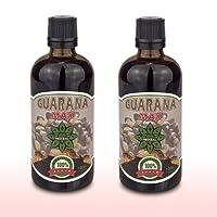 Guarana Max liquido | Cvetita Herbal UK | Siero 2 x 100 ml pacchetto | Siero naturale a base di estratti di erbe, integratore energetico e integratore di bruciagrassi, stimolatore del sistema immunitario e maggiore concentrazione e concentrazione