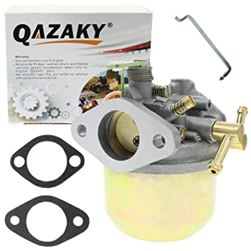 QAZAKY Carburetor For Gas Club Car Golf Cart DS Replacement For Kawasaki 341cc 1984 1985 1986 1987 1988 1989 1990 1991 Side Valve Engines Carb 1014541