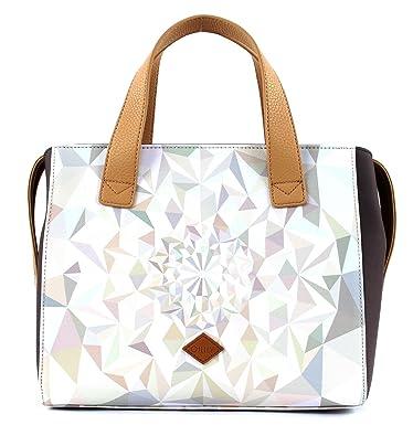 Handbag OES7189-029 Oyster White Damen Handtasche Schultertasche Umhängetasche (28 x 13 x 23 cm) Oilily plEulAh