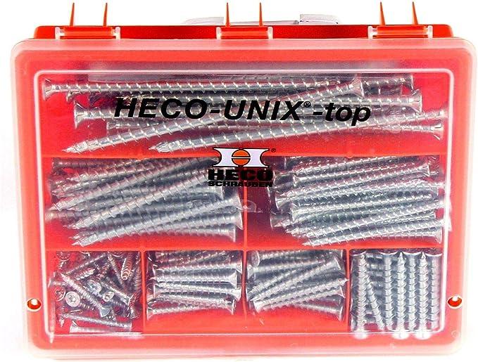 Heco schrauben hecounixtop - Maletín heco unix top t-drive: Amazon.es: Bricolaje y herramientas