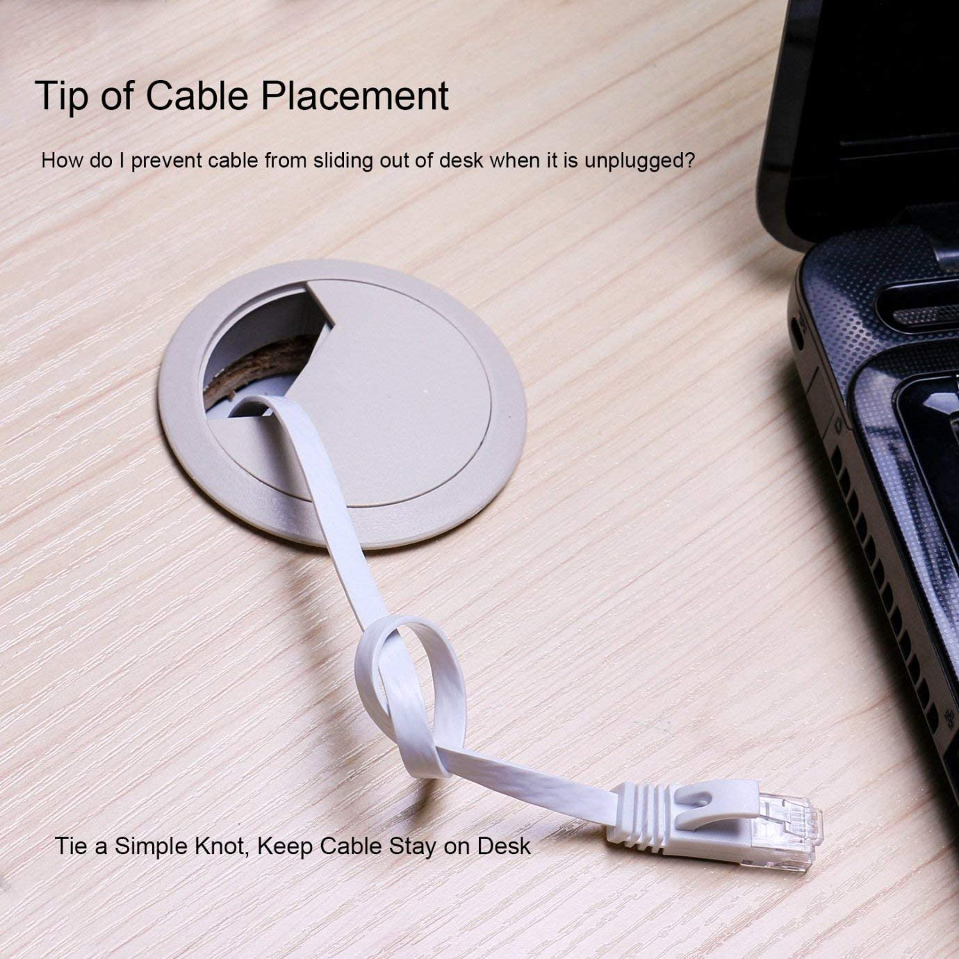 Flat Cat6 Ethernet Cable 200 Ft with Cable Clips comtelek cat 6 Ethernet Rj45 Patch Cable Thin Internet Computer Cable 60 Meters Slim Network Cable 200 Feet White