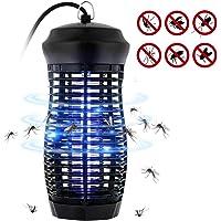 T98 Insektenvernichter, UV Insektenvernichter Elektrischer Mückenvernichter leuchtstoffröhre 6W Fluginsektenvernichter, Insektenabwehr Intelligente Mückenschutz für Innen und Außeneinsatz