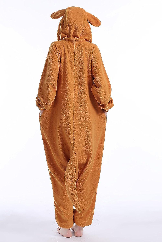 Amazon.com: Machic Unisex Adult Pajamas - Plush One Piece Cosplay Kangaroo Animal Costume: Clothing