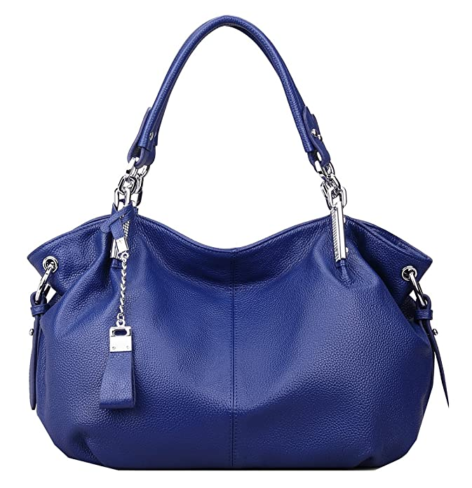 f0d036adfb Amazon.com  Heshe Womens Leather Handbags Ladies Designer Purse Tote Bag  Top Handle Bag Hobo Bag Shoulder Bag Cross Body Bag (Blue)  Shoes