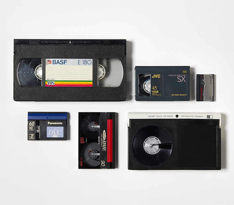 Video Tape Transfer Service (VHS, Hi8, Video 8, 8mm, VHS-C, MiniDV) to Digital MP4