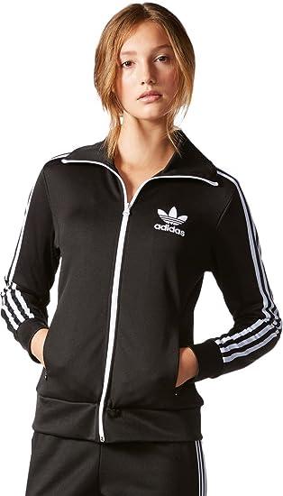 Tt Mujer Chaqueta De Europa 44 Chándal Adidas Negro fnTPpZq