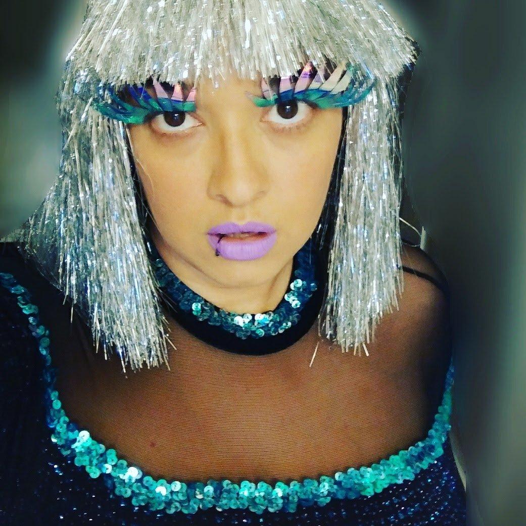 Holographic Eyelashes, Huge Eyelashes, Drag Lashes
