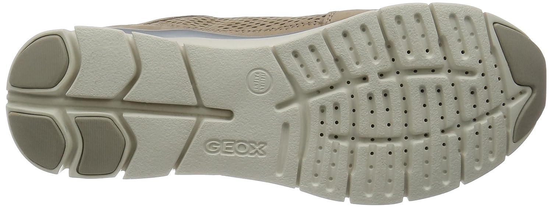 Geox Damen D D Damen Sukie F Sneaker Braun (Lt Taupe) 5282eb