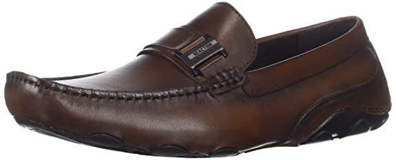 Kenneth Cole REACTION Men's Toast Driver D Loafer Brown 12 M US