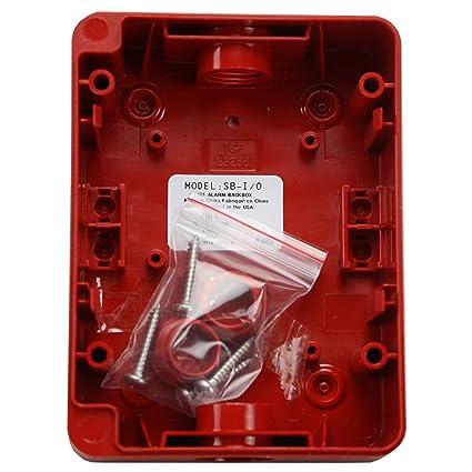 Alarmas de incendio Lite sb-i/O rojo fuego alarma interior ...