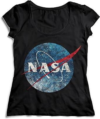 MYMERCHANDISE NASA Space Vintage T-Shirt Camiseta Shirt para ...