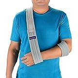 Quanquer Arm Sling Shoulder Immobilizer- Adjustable Arm Support Strap for Broken Arm Immobilizer