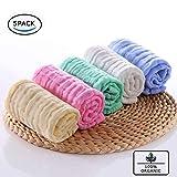 BELIZ - 100% Organic Cotton Muslin Baby Burp Cloths