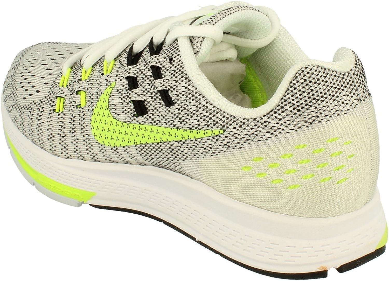 Nike Wmns Air Zoom Structure 19 CP, Zapatillas de Running para Mujer, Blanco (White/Volt-Black), 37 1/2 EU: Amazon.es: Zapatos y complementos