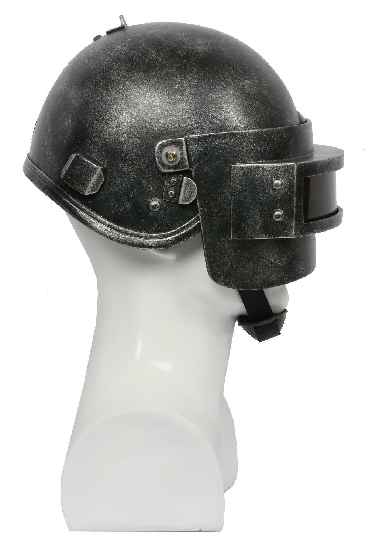 B Style Halloween PUBG Helm Survival Resin Vollkopfmaske Spiel Cosplay Zubeh/ör f/ür Erwachsene Kost/üm Waren