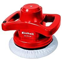Einhell CC-PO 90 Lucidatrice per Auto con Platorello da 240 mm, 90 W, 3700 Rpm, Rosso