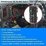 4WD Switch, 4WD 4x4 Wheel Drive Switch Transfer