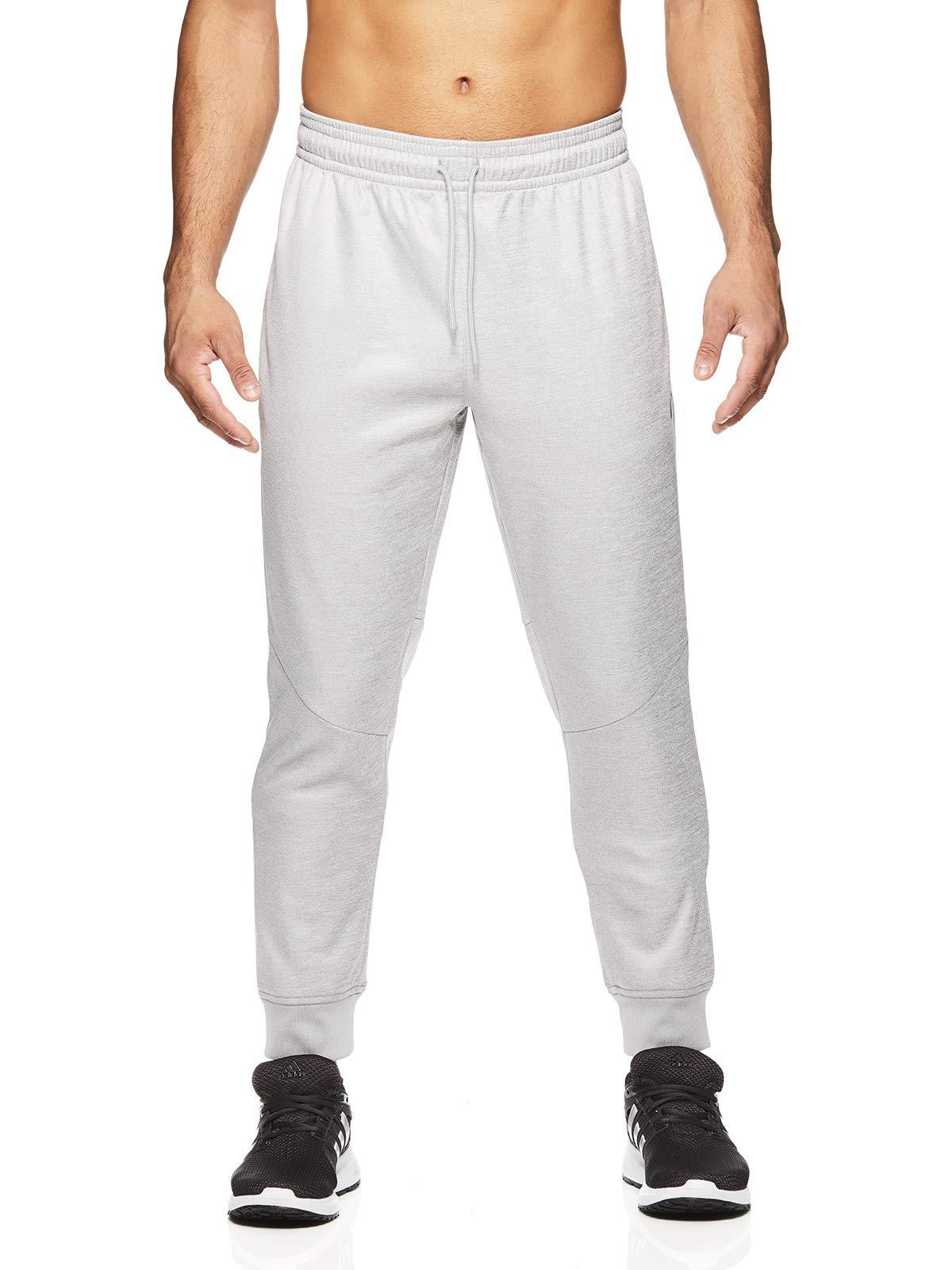 HEAD Men's Jogger Activewear Pants - Performance Workout & Running Sweatpants - Pro Sleet Heather, Small