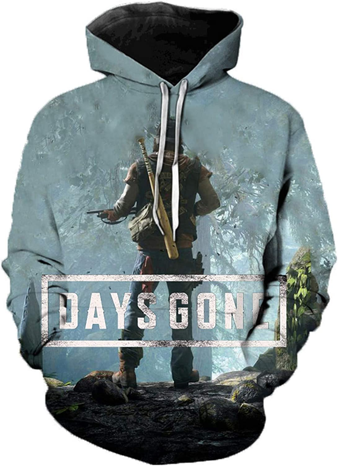 Personaity Game Days Gone 3D Printed Hooded Summer Men Women