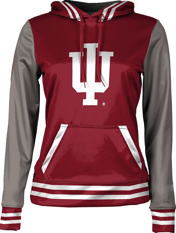 School Spirit Sweatshirt ProSphere Indiana University Girls Pullover Hoodie Letterman