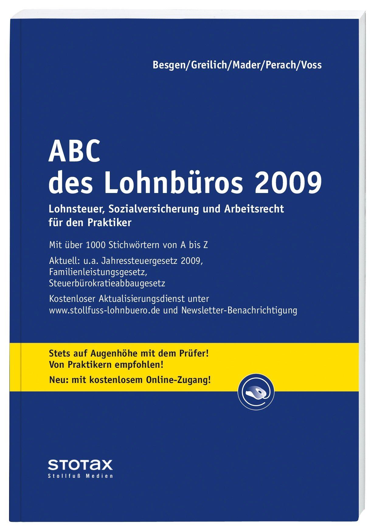 ABC des Lohnbüros 2009