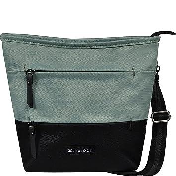 d47d2a882 Amazon.com: Sherpani Sadie RFID Crossbody Bag, One Size, Ash