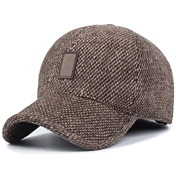 GADIEMENSS Winter Earflap Hat Men Dem Hat Dad Fashion Hats Sporting Goods  Hats Run Cap Hats 57fcb399cf96