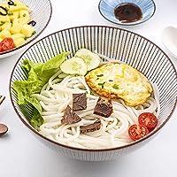 Geométricos Motivos Pasta Cuenco Premium Japonés Estilo Cerámica