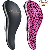 Bombex Deluxe Detangling Hair Brush 2-Pack
