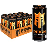 Reign Total Body Fuel, Orange Dreamsicle, Fitness & Performance Drink, 16 Oz (Pack of 12), 1 Pack