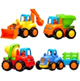 Playking Happy Engineering Unbreakable Automobile Car  (Set of 4)