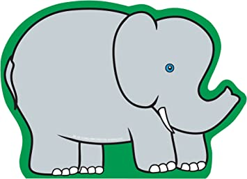 Amazon Com Elephant Large Notepad Pack Of 50 For Kids Zoo Crafts And Animals School Craft Projects Bulletin Board Decorations Office Products