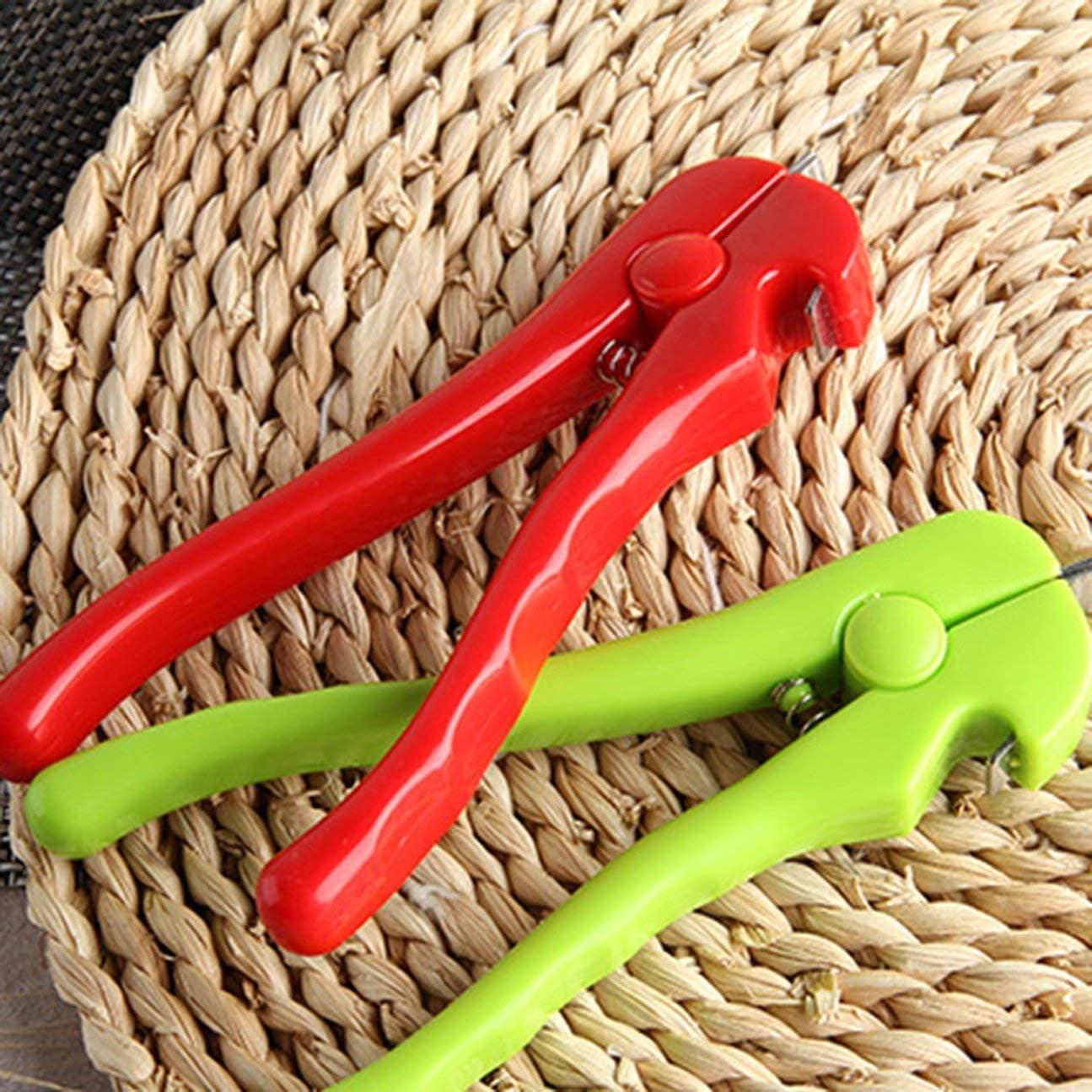 Pince /à fruits de mer ouvrante multifonctionnelle Pince /à palourdes Dispositif douverture Pince /à nourriture Pratique Cuisine Outils de cuisson COULEUR: Rouge
