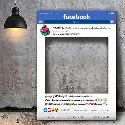 setecientosgramos Photocall Facebook | Ventana Facebook | Marco ...