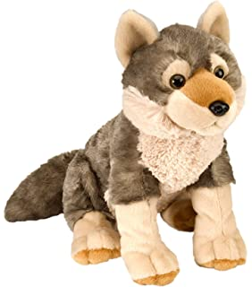 Wild Republic Wolf Plush, Stuffed Animal, Plush Toy, Gifts Kids, Cuddlekins 12