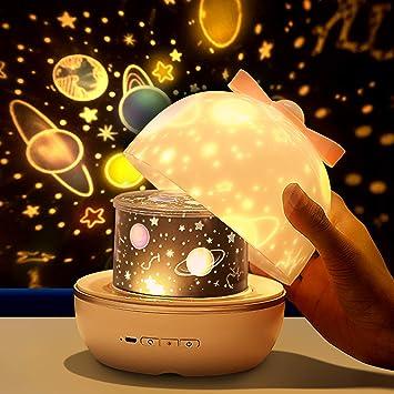 Kinderzimmer Schlafzimmer LED-Nachtlicht Nachthimmel Projektor Lampe Geschenk