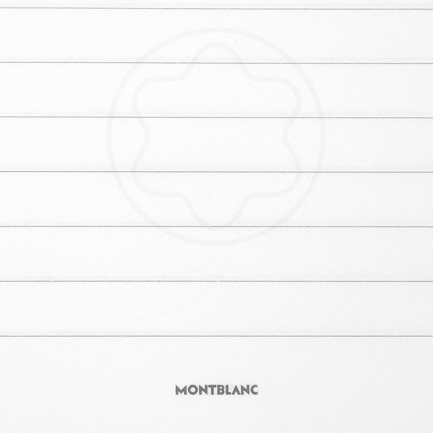 Montblanc Fine Stationary Unisex 146 Green Lined Leather Notebook Accessories 116518 by MONTBLANC