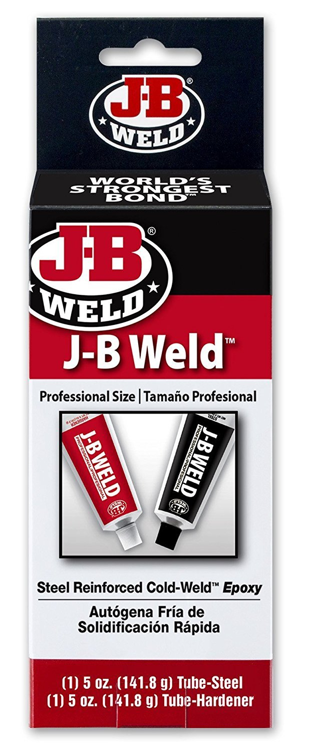 Industro Weld Cold Weld Shop Size, Case of 6 (8280-C) by J-B Weld